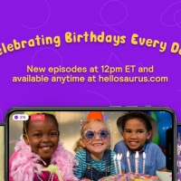 Hellosaurus Launches Interactive 'Birthday Show' for Ages 3-8 Hosted by Tim Kubart Photo