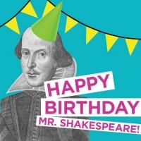 Happy Birthday, Shakespeare!  Fun ways to celebrate the Bard's birthday! Photo