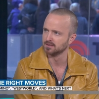 VIDEO: Watch Aaron Paul Discuss EL CAMINO, WESTWORLD on TODAY SHOW Video