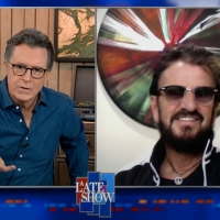 VIDEO: Ringo Starr Talks About The Beatles' First Trip to the U.S. on THE LATE SHOW Photo