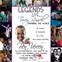 Ben Vereen to Appear as Inaugural Guest on New Online Series LEGENDS LIVE: WITH TORRE Photo