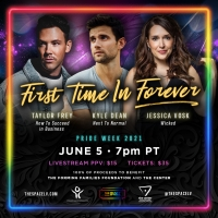 Jessica Vosk, Kyle Dean Massey and Taylor Frey Join Together for FIRST TIME IN FOREVE Photo