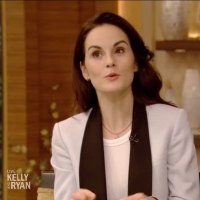 VIDEO: DOWNTON ABBEY's Michelle Dockery Talks Upcoming Movie on LIVE WITH KELLY AND R Video