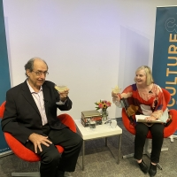 CULTURE & COCKTAILS Attracts 200+ To Online Chat With Hollywood Historian Scott Eyman Photo