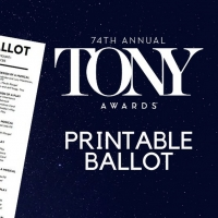 Download BroadwayWorld's Printable Ballot for the Tony Awards Photo