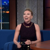 VIDEO: Scarlett Johansson Talks BLACK WIDOW on THE LATE SHOW WITH STEPHEN COLBERT Photo