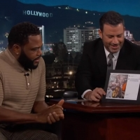 VIDEO: Anthony Anderson Talks to Jimmy Kimmel about Magic Johnson Video