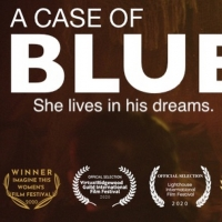 Stephen Schnetzer And Tracy Shayne Star In A CASE OF BLUE Film Photo