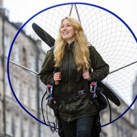 Sacha Dench Visits Edinburgh Ahead Of Her Appearance at Edinburgh Science Festival Photo