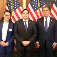 Director of Oscar-Nominated Short Film SARIA Meets With White House Reps Photo