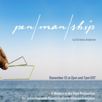 Moliere In The Park Live Stream Of Christina Anderson's PEN/MAN/SHIP Opens Tonight Photo