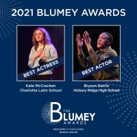 Blumenthal Performing Arts Announces 2021 Blumey Awards Best Actor And Best Actress Winner Photo