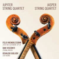 Jupiter Quartet and Jasper Quartet Release Music by Mendelssohn, Visconti & Golijov o Photo