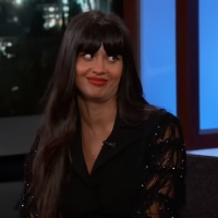 VIDEO: Jameela Jamil Says Ted Danson Almost Killed Her on JIMMY KIMMEL LIVE! Photo