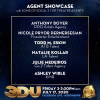 3-D THEATRICALS Announces July 17 3D+U Agent Showcase Photo