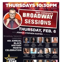 Broadway Sessions Celebrates Black History Month Photo