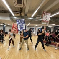 Photos: Get A First Look At The Cast Of THE PROM On Tour In Rehearsal Photo