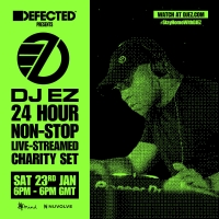 DJ EZ Joins Forces With Defected Records For Yet Another 24-Hour Charity Set Photo