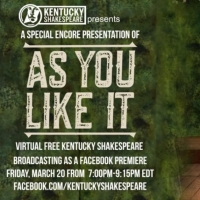 Kentucky Shakespeare to Present Encore Presentation of AS YOU LIKE IT Tonight on Face Photo
