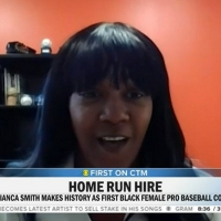 First Black Woman to Coach Pro Baseball Appears on CBS THIS MORNING Photo