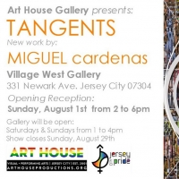 The Art House Gallery Presents TANGENTS, New Work By Miguel Cardenas Photo
