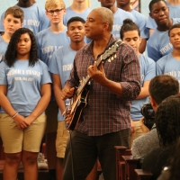 Bernie Williams Joins Young At Arts To Celebrate Fifteen Years Of Arts Education Photo
