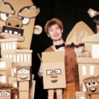 Cardboard Characters Take The Stage at Flushing Town Hall in CARDBOARD EXPLOSION! Photo