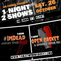 #IMDEAD: Voices That Slay and OPEN CASKET: A Spooky Open Mic Come to West End Lounge
