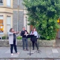 VIDEO: Neighboring Musicians in Cardiff Perform 'Somewhere Over the Rainbow' on the S Photo