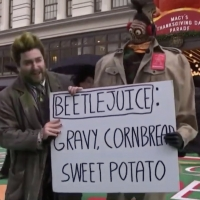 VIDEO: BEETLEJUICE Explains The Whole Being Dead Thing During Macy's Thanksgiving Day Parade