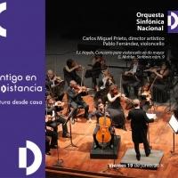 La Orquesta Sinfónica Nacional Presenta Obras De Haydn Y Mahler En Concierto Virtual Photo