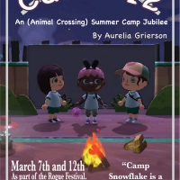 In The Margin and Juvenilia Present: An Animal Crossing Summer Camp Jubilee Photo