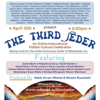 "Experience An All-Star Third Seder ��""  An Online International Yiddish Cultural Cele Photo"