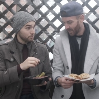 VIDEO: Matt Mucha and Taylor Okey Eat Like Sharks and Jets on SECOND ACT SNACKS Photo