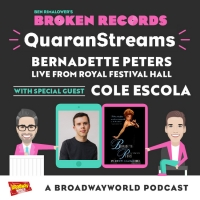 BWW Exclusive: Ben Rimalower's Broken Records QuaranStreams- Cole Escola Joins to Tal Photo