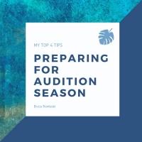 Student Blog: Preparing for Audition Season Photo