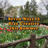 Student Blog: Seven Ways to Stay Creative This Summer Photo