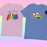 Shop Fan-Designed Pride Month Shirts Benefitting The Trevor Project and The Tran Photo