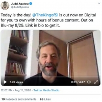 VIDEO: Judd Apatow and Pete Davidson Catch Up on Zoom Photo