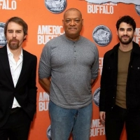 Laurence Fishburne, Sam Rockwell & Darren Criss Pose With Nickel at Circle in the Squ Photo