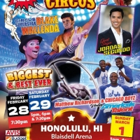 THE SUPER AMERICAN CIRCUS Announced At The Blaisdell