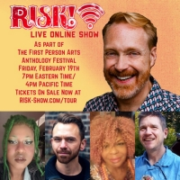 RISK! Podcast Announces February Livestream as Part of 2021 First Person Arts Antholo Photo