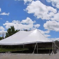 VIDEO: Watch The Tent Go Up At Barrington Stage Photo
