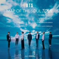BTS Announces Return To The UK With Map Of The Soul Tour Photo