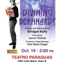 Teatro Paraguas Presents DIVINING BERNHARDT Photo