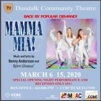 MAMMA MIA Returns to Dundalk Community Theatre March 6