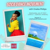 Broadway's Oneika Phillips Hosts 'Soca Dance Movement' Workshop Photo