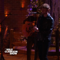 VIDEO: Watch King Calaway Perform 'Happy Xmas (War Is Over)' on THE KELLY CLARKSON SHOW