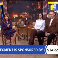 VIDEO: Caitriona Balfe and Sam Heughan Give a Sneak Peek of OUTLANDER on GOOD MORNING AMERICA