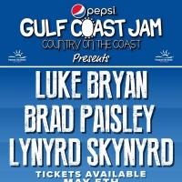 Luke Bryan, Brad Paisley and Lynyrd Skynyrd to Headline 2020 Pepsi Gulf Coast Jam Photo
